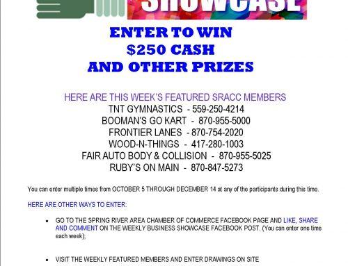 SRACC BUSINESS SHOWCASE WEEK OCT 5